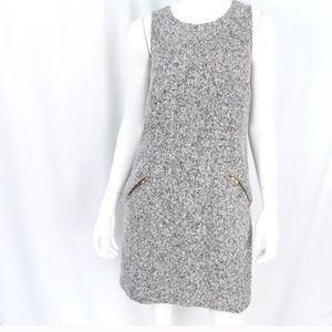 Ann Taylor LOFT size 6 lined sleeveless wool dress